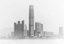 Hong Kong - skyline - High key