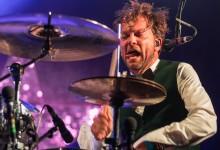 Drummer in actie!